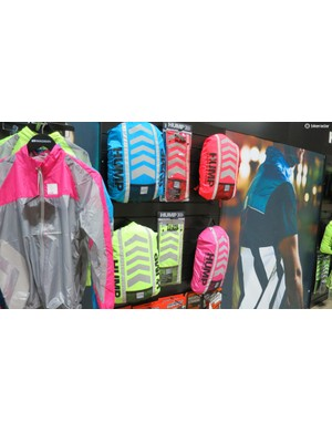 Hump was showing off a range of high-vis bag covers