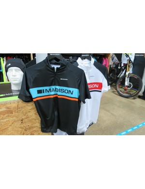 One of the men's jerseys is inspired by the Madison Genesis team colours