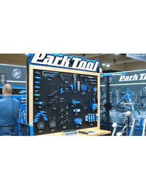 Park Tool was showing off a bewildering array of gadgets for all workshop tasks