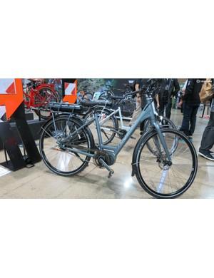 Ridgeback's Electron+ uses Shimano's Steps e-bike system with an Alfine rear hub
