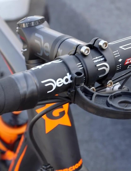 Deda supplies the cockpit components