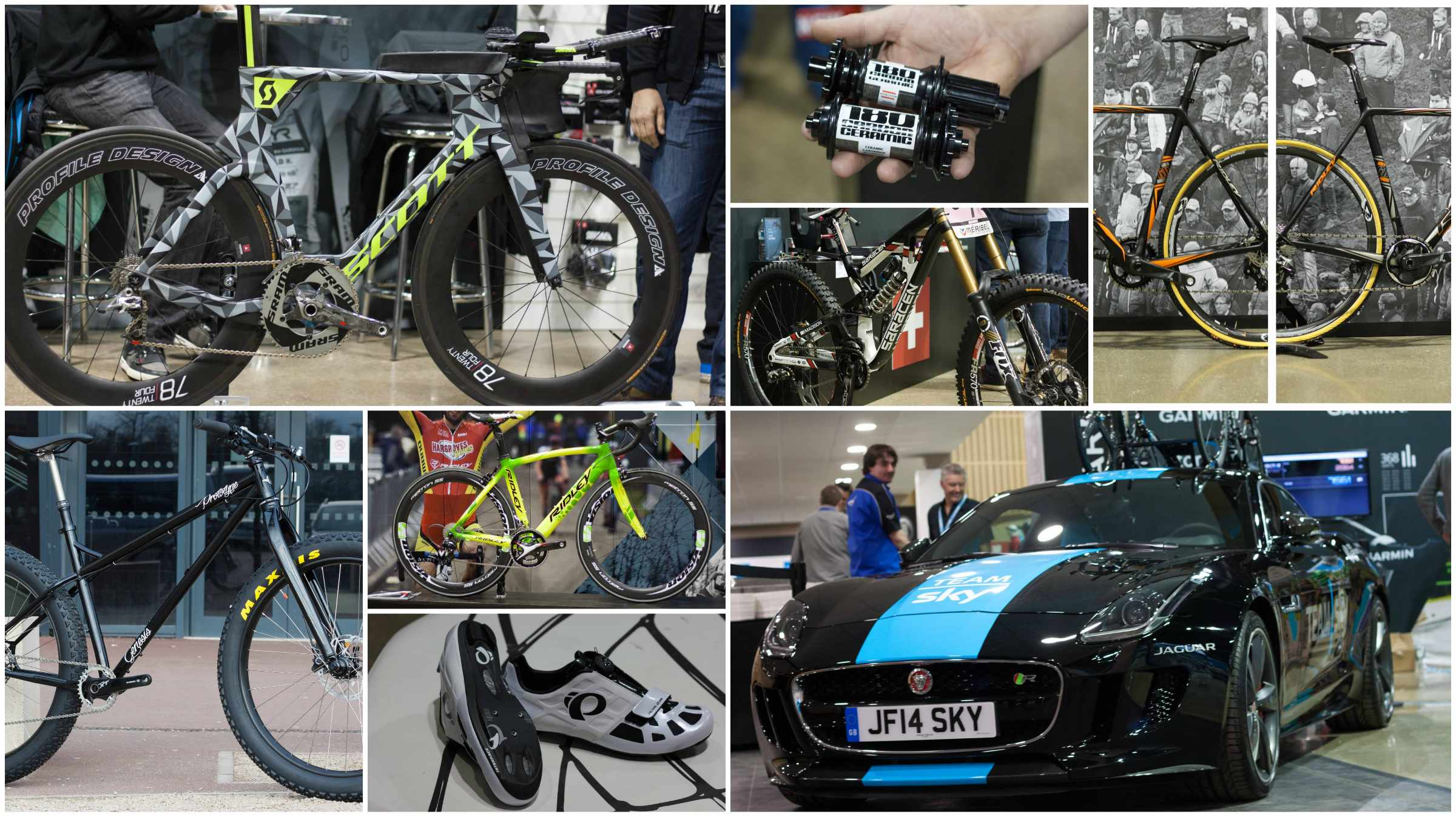 Our picks from the stands at this year's IceBike 2015 trade show