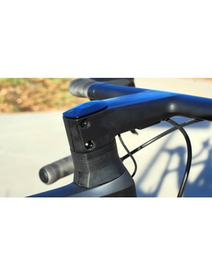 Canyon includes matching profiled headset spacers so as to maintain the profile all the way down to the top tube