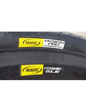 Mavic's second-generation Exalith 2 sidewall treatment is less noisy than the original but still far from silent. It does offer excellent braking performance, particularly in the wet