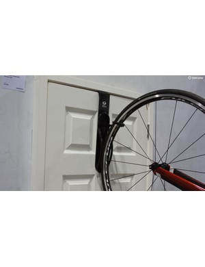 Gear Up's Off the Door rack, which as its name suggests simply hangs off a door, is an option for renters short on space