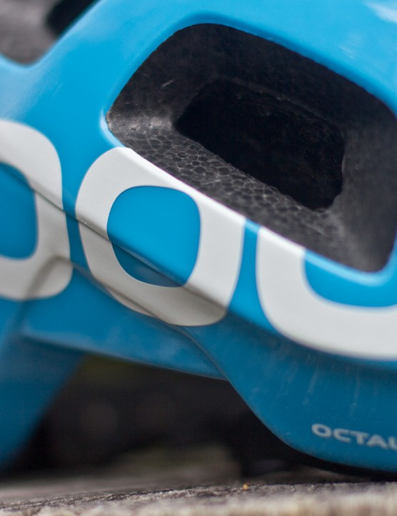 The Octal provides much more coverage than most high-end road helmets