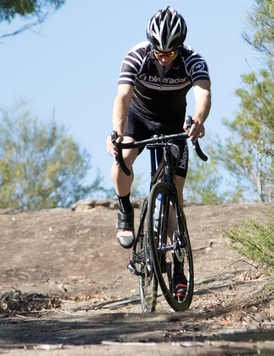 You wouldn't ride your road bike in a mountain bike event, but you should get them both set up correctly for a trouble-free transition