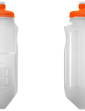 The pointed bottom aid access, while the concave shape improves comfort and keeps the bottle from shifting