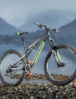 Big and bold, the Nukeproof Mega TR Comp's frame construction looks – appropriately – like it might survive a nuclear holocaust
