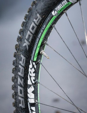 Chunky Nukeproof Generator rims are ready for the rough stuff