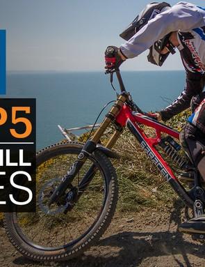 Top five downhill bikes