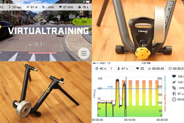 Thanks to a Bluetooth connection, virtual rides in France and structured power workouts are just a few swipes of your smartphone away
