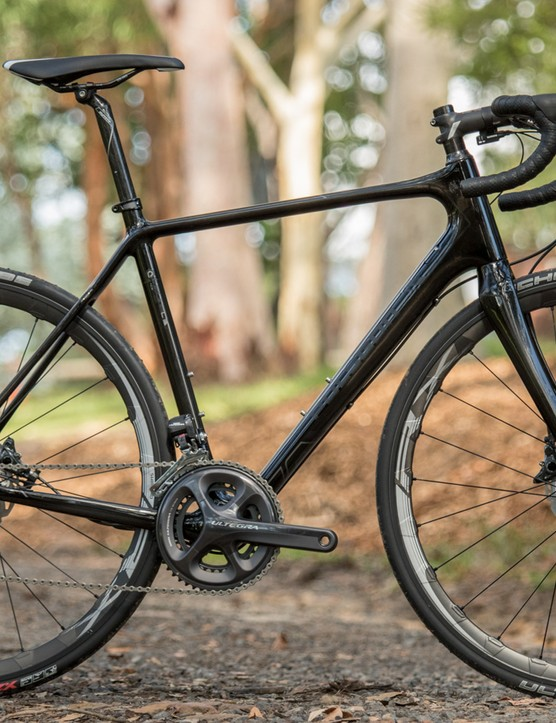 The 2015 Polygon Helios CX8 Disc is a whole lot of bike for the money, but it's sportier than its endurance tagging would lead you to believe