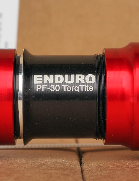 Enduro is machining the TorqTite cups and central sleeve from aluminum, right near the company's headquarters in Oakland, California