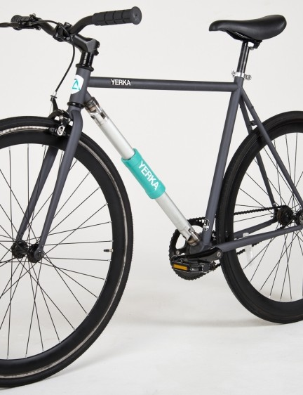 It's a good-looking city bike in its own right – the lock makes it incredibly practical