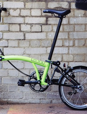 The lime green paint option is a much brighter alternative and should improve visibility for other road users