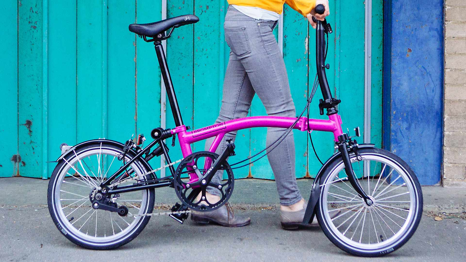 Black components are available on Brompton models for the first time