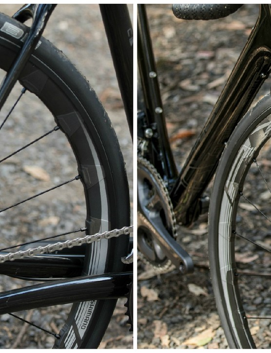 The Shimano RX830 hoops are exceptional for the price. They aren't particularly light, but offer fast rolling, positive stiffness and proven bearing durability while patiently awaiting a tubeless setup