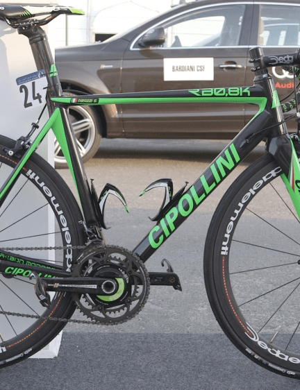 We expect Pirazzi to really show what this bike is made of during the Giro d'Italia