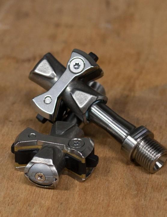 Speedplay Zero Pave Titanium pedals