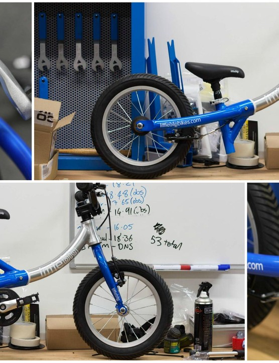 LittleBig bike in both little and big configurations