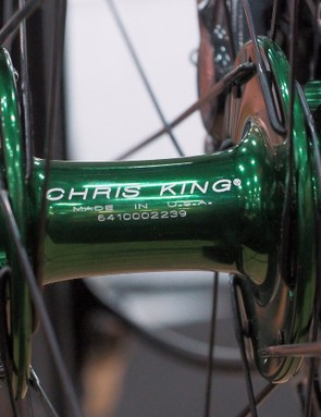 Chris King has also jumped on to the 12mm thru-axle bandwagon with this matching hub
