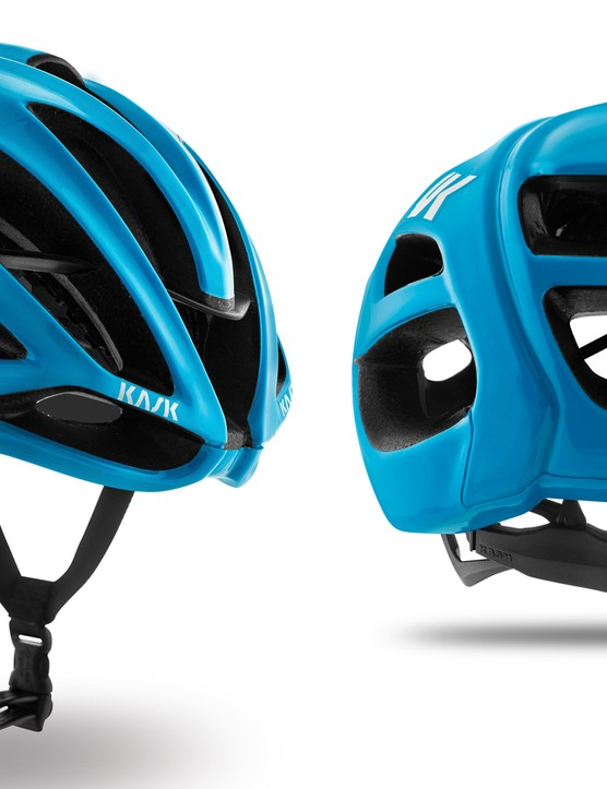 The final version of the Kask Protone features aerodynamic, structural and comfort improvements