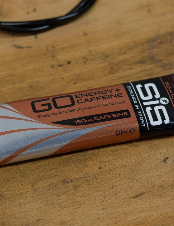 Caffeine gels can give a much-needed mental boost to keep you going