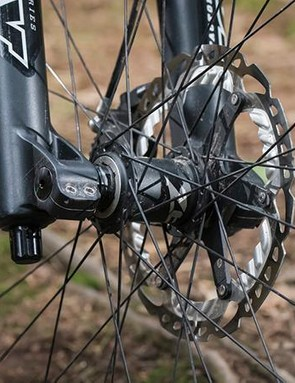 'Second-tier Shimano Zee brakes are impressively powerful
