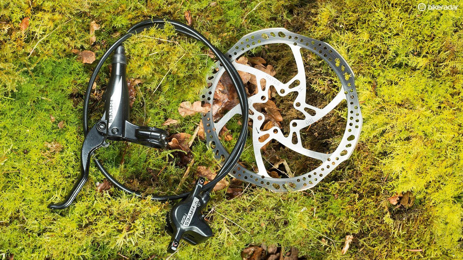 Hayes Radar disc brakes