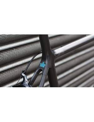 The frame finish is superbly clean with discreet decals to match the blue detailing