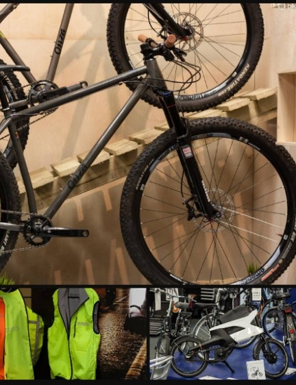New bike gear from Proviz, Peugeot, American Classic, Onza and more at the Moore Large Geared Show 2015 gallery