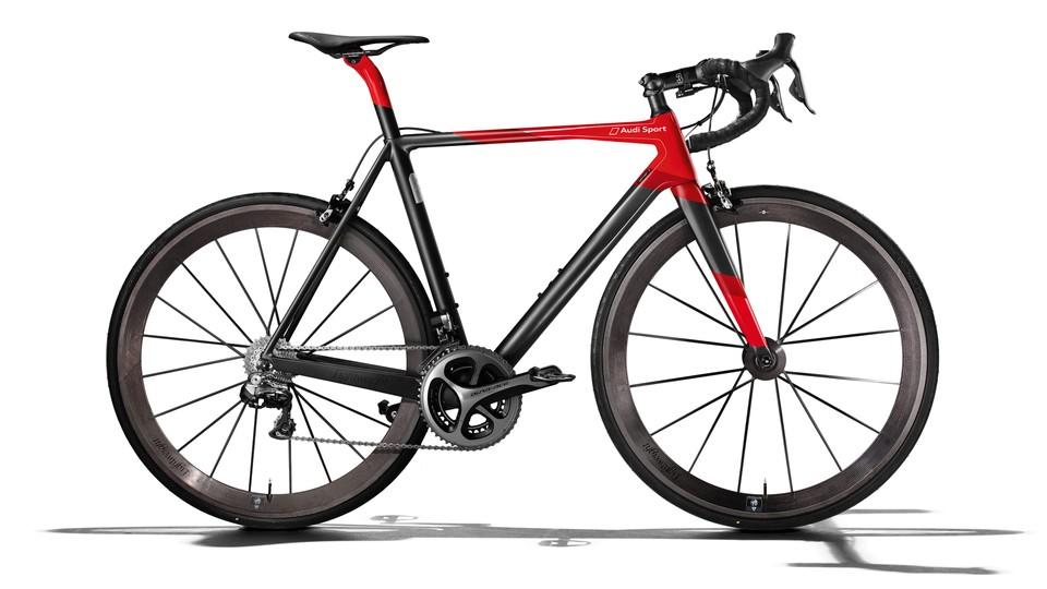Audi Sport Racing Bike - bicicletas más caras del mundo.