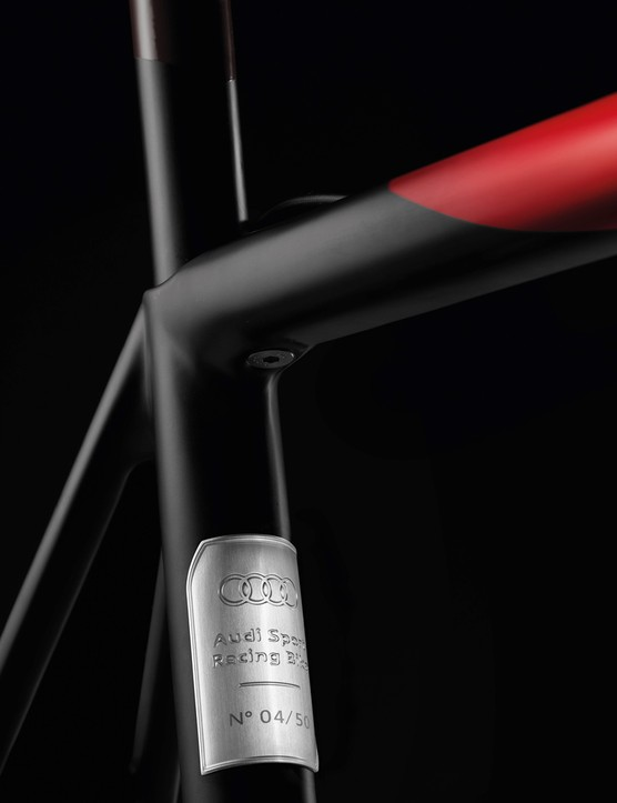 Each bike is individually numbered