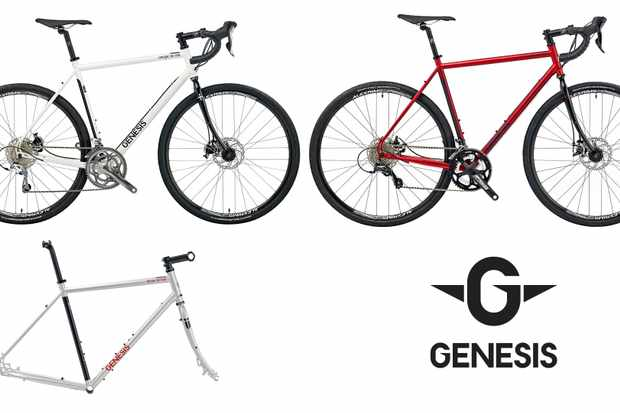 The 2015 Genesis Croix de Fer 10 in rosso red, Tour de Fer frameset in matt silver and Croix de Fer 20 bike in white, are all affected