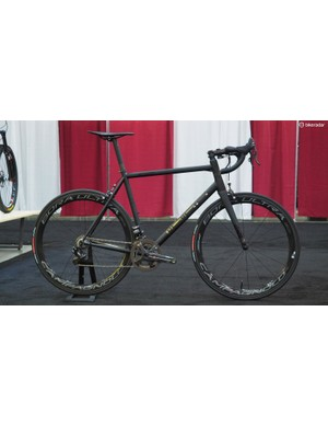 The long trek from the Czech Republic was well worth it for new builder Repete Cycles, who took home the 'Best Road Bike' prize with this gorgeous steel road racer