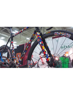 Shamrock Cycles estimates that Corby Concepts invested over 80 hours into this one paint job