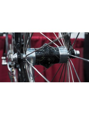 Cykelmageren makes the front and rear hubs, too