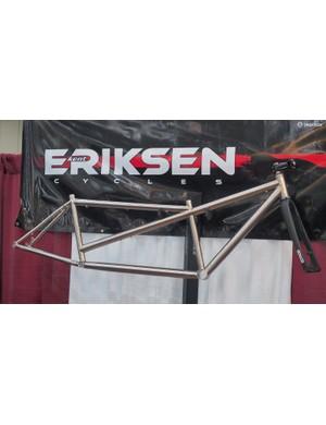 Eriksen won the 'Best Titanium Bike' award for this utterly perfect tandem frame