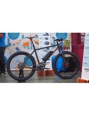 Sycip won Shimano's STEPS e-bike award for this 27.5+ mountain bike