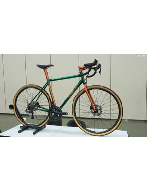 The 'Best New Builder' award went to Love Baum Cycles for this lugged gravel machine
