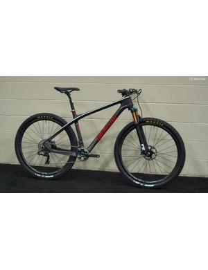Alchemy Bicycle Company won the 'Best Carbon Layup' award at NAHBS for its new Oros hardtail 29er