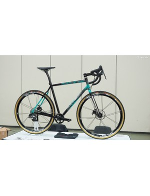 Mars Cycles won the 'People's Choice' award for this fillet-brazed steel 'cross bike