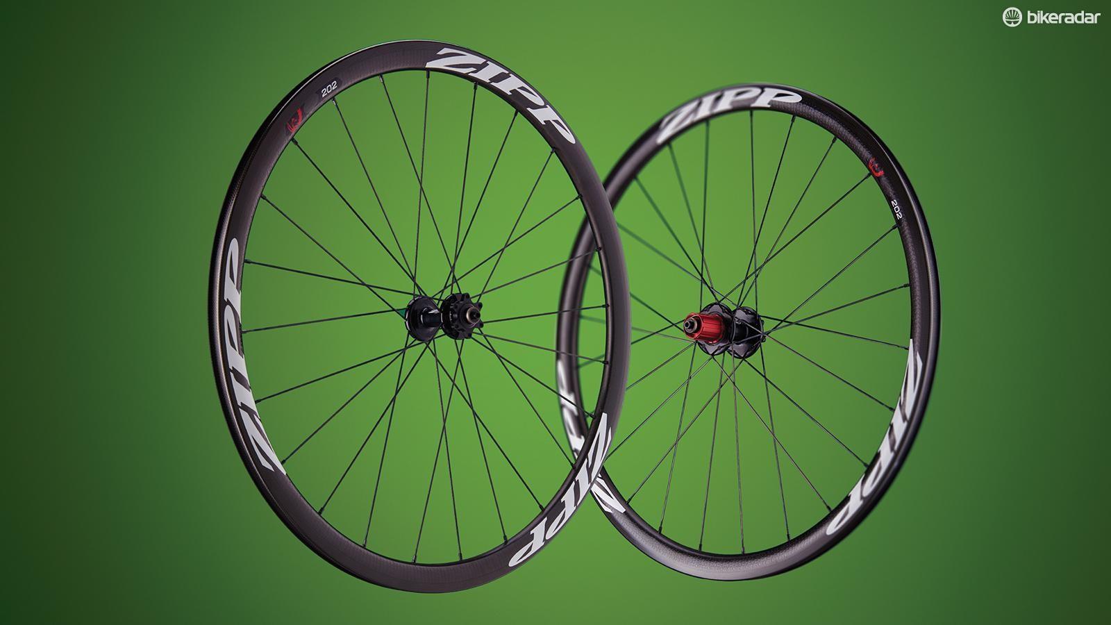 Zipp 202 Firecrest CCL Disc wheels