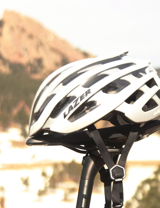Lazer has snap-on Aero Shells for five of its helmets now. This is the Z1