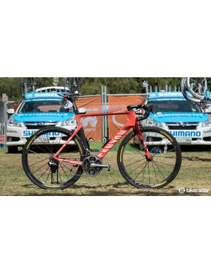 Two WorldTour teams are riding the Canyon Aeroad CF SLX in 2015