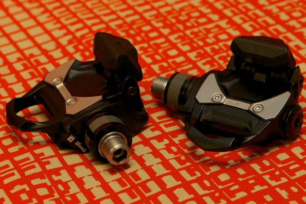 The P1 pedals weigh a claimed 398g for the pair