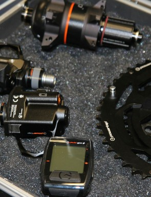 PowerTap will soon have power meters in the form of pedals and a chainring/spider combo as well as its defining hubs