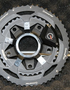 The C1 power meter is a spider/chainring combination that mounts on most any 110 BCD crank