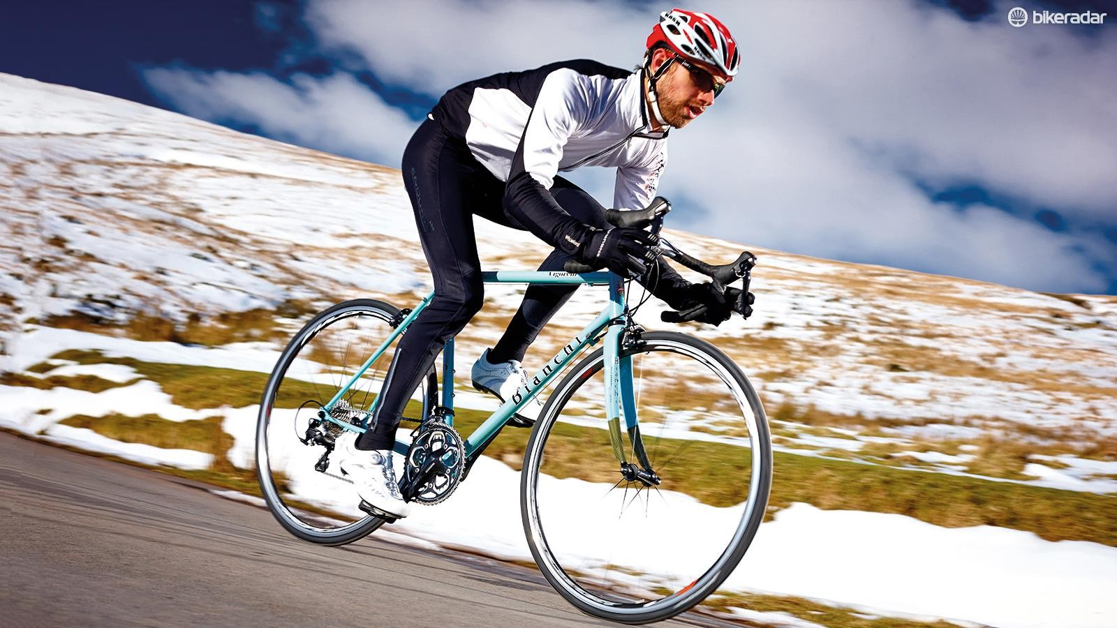 Bianchi's Vigorelli gets a vigorous winter workout